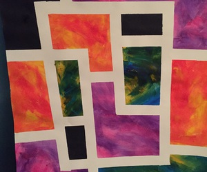 art, paint, and abstract image
