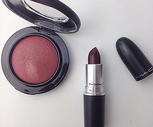 beauty, mac, and cosmetics image