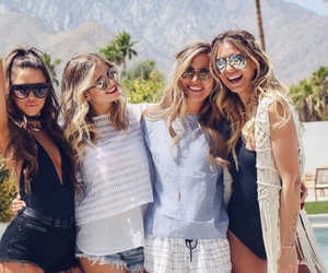 best friends, bff, and coachella image