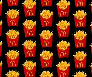 background, French Fries, and fries image