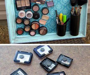 makeup, diy, and make up image