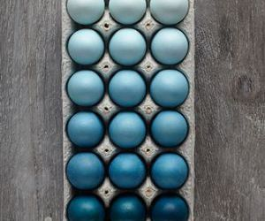 blue, eggs, and easter image