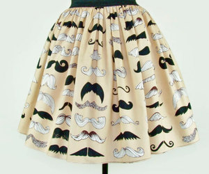 1950s, etsy, and moustache image