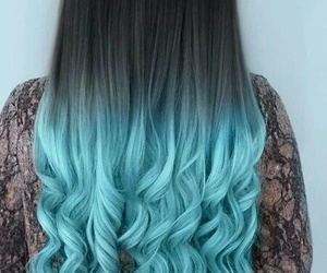 black, blue, and cabello image