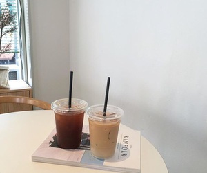 aesthetic, minimal, and cafe image