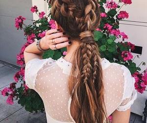 beautiful, braid, and classy image