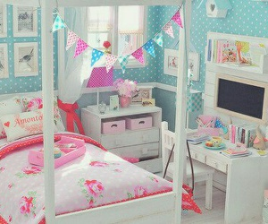 room, cute, and bedroom image