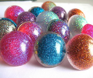 glitter and ball image
