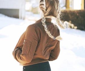 braids, fashion, and hair image