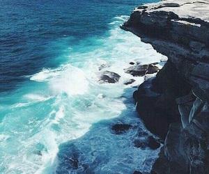ocean, sea, and beauty image