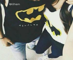 batman, love, and girl image