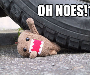 domo, help, and toy image