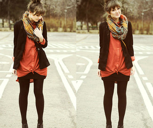 fashion, lookbook, and red image