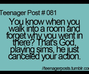 sims, funny, and god image