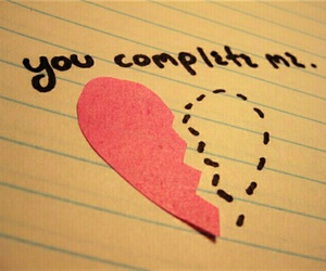 love, heart, and complete image