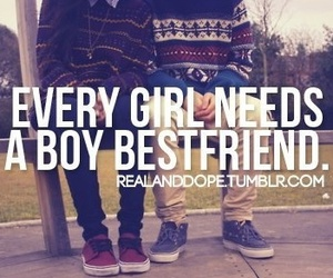 boy, girl, and bestfriend image