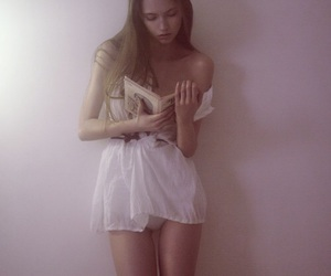 baby pink, body, and fashion image