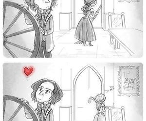 love, heart, and once upon a time image