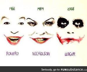 joker, batman, and ledger image