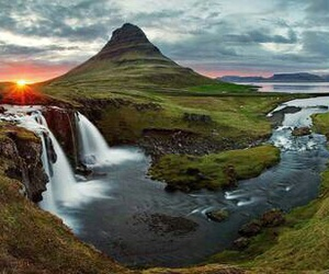 nature, iceland, and travel image