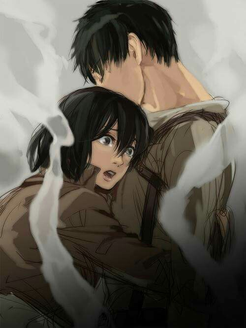 Image About Fanart In Eren X Mikasa By ハヤ On We Heart It