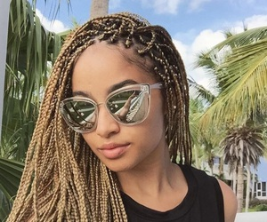 braids and blonde image