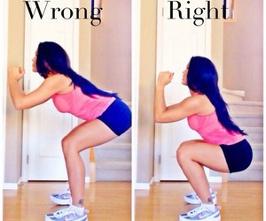 squats, fitness, and fit image
