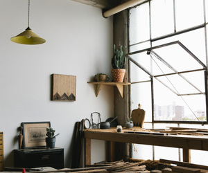 architecture, hipster, and interior image
