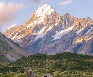 mountains, new zealand, and adventure image