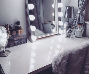 makeup, room, and classy image