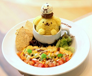 cafe, japan, and sanrio image