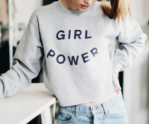 girl, fashion, and girl power image