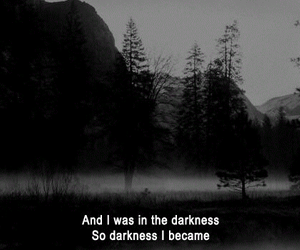 black, life, and Darkness image