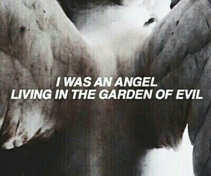 angel, evil, and quotes image