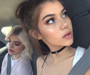 girl, sahar luna, and tumblr image