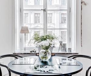 flowers, interior, and livingroom image