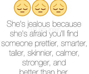 better, jealous, and pretty image