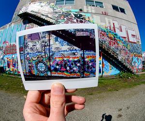 photography, graffiti, and photo image