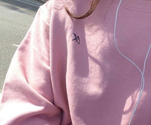 fashion, long sleeves, and pullover image