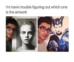 art, funny, and toni mahfud image