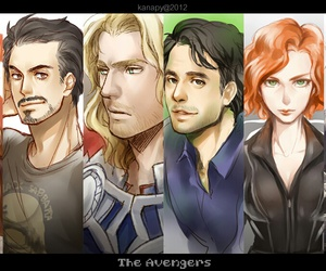 Avengers, Marvel, and hawkeye image