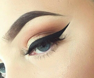 makeup, pretty, and beautiful image