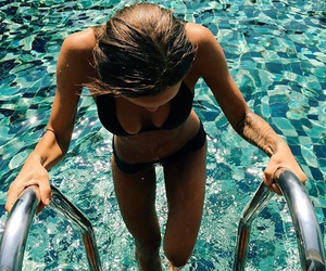 body, fitness, and pool image