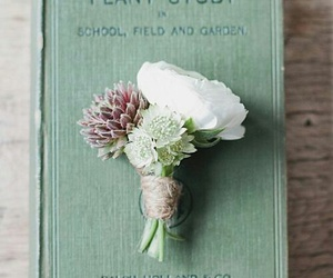 book and bouquet image