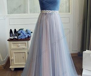 strapless dress, promdresses, and promdress image