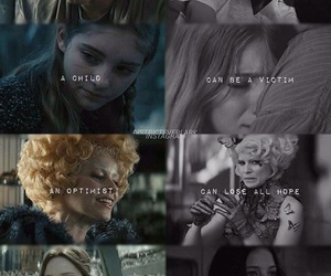 prim, the hunger games, and effie image
