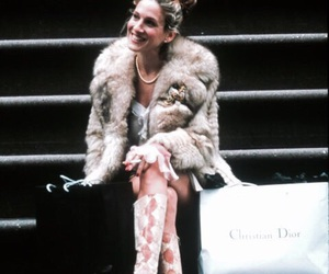 sex and the city, Carrie Bradshaw, and dior image