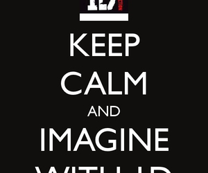 beautiful, imagine, and keep calm image