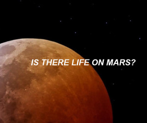 david bowie, mars, and planets image