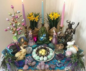 altar and witch image